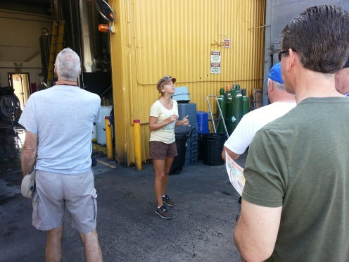 Our awesome tour guide, Crystal!