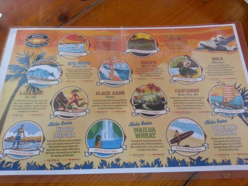 Info about all of the beers that Kona has to offer.